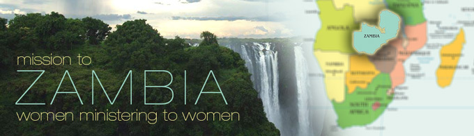 Mission to zambia: women ministering to women